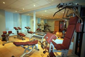 Фитнес-центр и/или тренажеры в Hotel Caesar Prague
