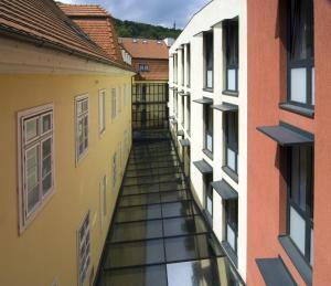 Un balcón o terraza de Hotel Roma Prague