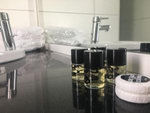Een badkamer bij Camping Hotel Renesse