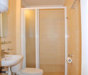 Vonios kambarys apgyvendinimo įstaigoje Hotel Palma