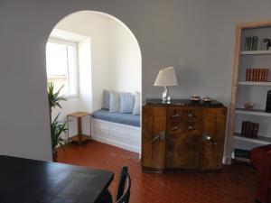 A seating area at La MAISON du PORT