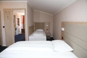 Krevet ili kreveti u jedinici u objektu Hotel Ana