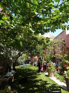 A garden outside Vieux Port Panier Jardin