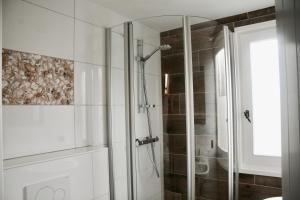 A bathroom at Bed & Breakfast Zeeland