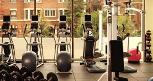 The fitness center and/or fitness facilities at Washington Hilton