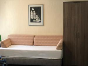 Ein Sitzbereich in der Unterkunft Hotel Junkerhaus