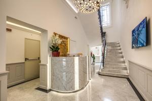 Hall o reception di The Liberty Boutique Hotel