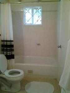 A bathroom at Comfort Living