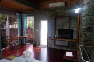 TV/Unterhaltungsangebot in der Unterkunft Phang-nga cottage