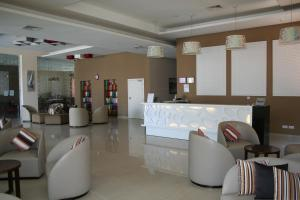 The lobby or reception area at Hotel Relax Marrakech