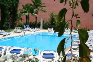 The swimming pool at or near Hotel Relax Marrakech