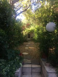 A garden outside Dépendance sainte Anne