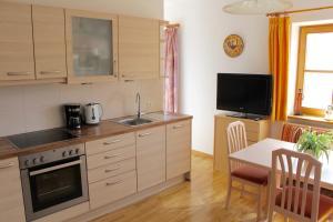 Küche/Küchenzeile in der Unterkunft Spisserhof