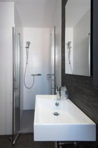 A bathroom at Hostal Emeritae