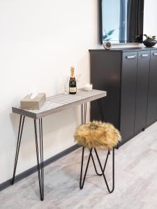 TV a/nebo společenská místnost v ubytování Diamond Apartments