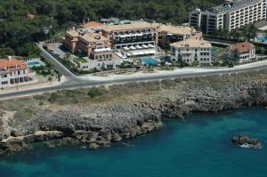 A bird's-eye view of Grande Real Villa Itália Hotel & Spa