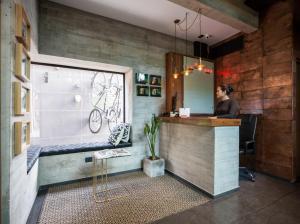 The lobby or reception area at Maison Italia 1029