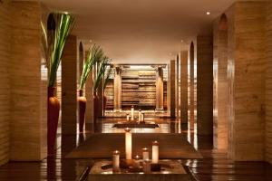 A restaurant or other place to eat at The Leela Ambience Convention Hotel Delhi