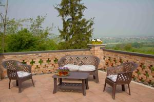A balcony or terrace at Cascina Recarano