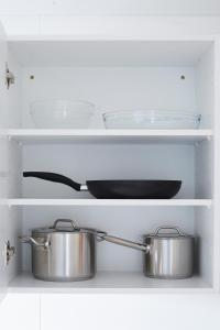 Køkken eller tekøkken på athome apartments