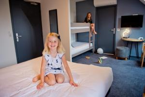 Children staying at Relais Amadourien