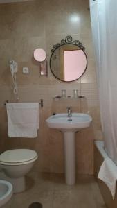 Ванная комната в Hotel SAN SEBASTIAN Almuñécar