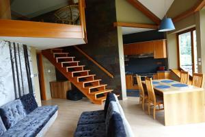 Posezení v ubytování Vila 007