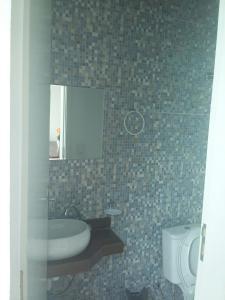 A bathroom at Conforto Verde