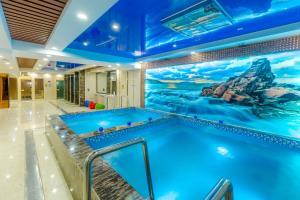 The swimming pool at or near Grand Hill Hotel Ulaanbaatar