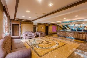 El vestíbulo o zona de recepción de Grand Hill Hotel Ulaanbaatar