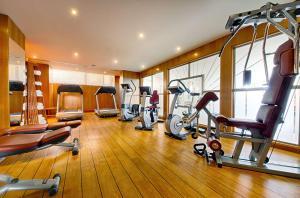 The fitness center and/or fitness facilities at Hyatt Regency Nice Palais de la Méditerranée