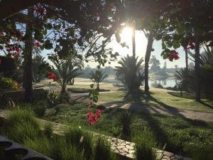 حديقة خارج Tikida Golf Palace - Relais & Châteaux