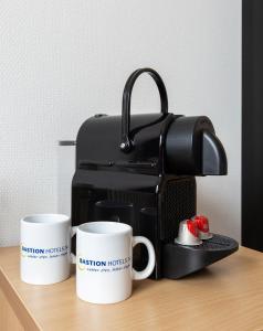 Coffee and tea-making facilities at Bastion Hotel Leiden Voorschoten
