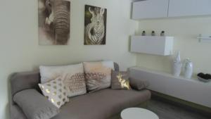 A seating area at Apartamenty Cudowna Wyspa