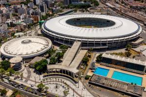 A bird's-eye view of Hotel São Cristóvão