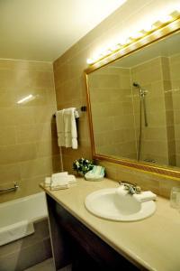 A bathroom at Hotel Kasteel Solhof