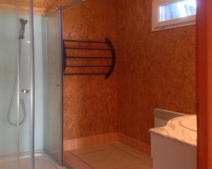 A bathroom at Les Calètes