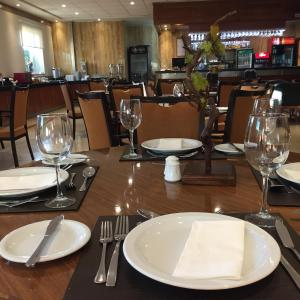 Un restaurante o sitio para comer en Hotel Diego De Almagro Talca