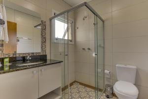 Um banheiro em Pousada Janela do Vale