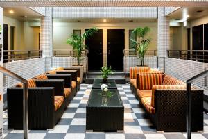 Restoran atau tempat makan lain di Ueno Hotel