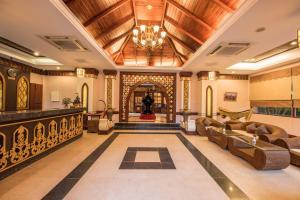 Lobby/Rezeption in der Unterkunft Shwe Yee Pwint Hotel
