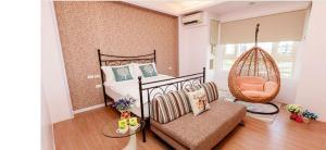 金洙椏民宿房間的床
