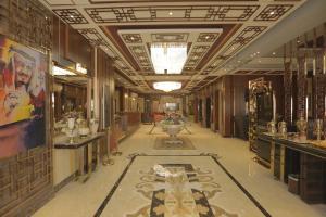 Um restaurante ou outro lugar para comer em Niyaf Hotel Appartments