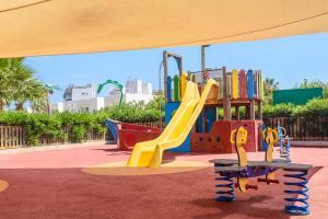 Children's play area at Aparthotel Tropic Garden