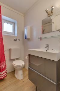 Een badkamer bij In Winterberg