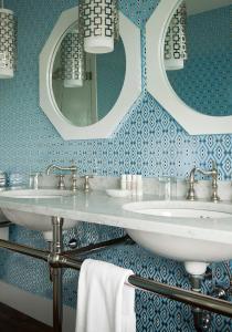 A bathroom at The Tides Beach Club
