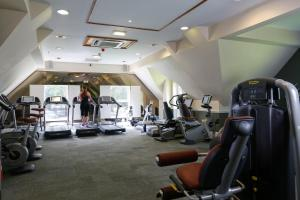 The fitness center and/or fitness facilities at Macdonald Kilhey Court Hotel & Spa