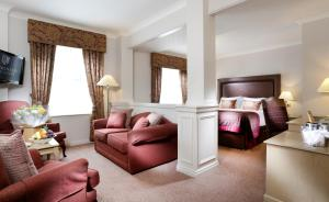 A seating area at Macdonald Kilhey Court Hotel & Spa