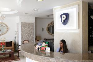 The lobby or reception area at Hotel Presidente Internacional