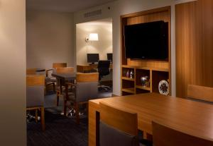 A television and/or entertainment center at Hyatt Regency Vancouver
